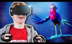 VIRTUAL REALITY ANIMATION! | Crow: The Legend VR: Animated 360 Movie (Oculus Rift + Touch Gameplay)