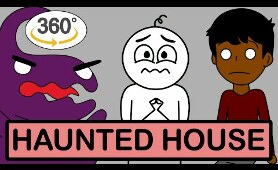Haunted House 360 Animated VR Ft. @Animator Bhai and @Puff Talks