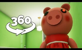 360 Video || Piggy 360 - Find Piggy VR