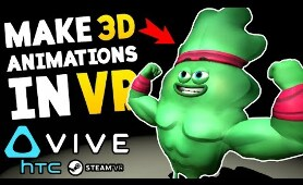 MAKING 3D ANIMATION IN VR!! MINDSHOW FUNNIEST VIDEOS!! || Mindshow VR Funny Moments/Gameplay Part 1