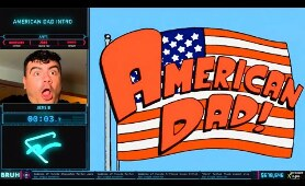 American Dad Intro Any% Speedrun by Novadica in 0:04:06 - AGDQ2020 (Gamecube World Record)