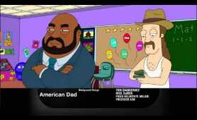 American Dad - Suzy draw out of the lines