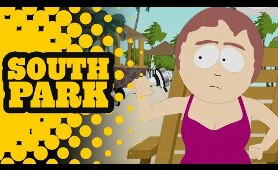 Sharon Giving In To Have A Quickie on the Beach - SOUTH PARK