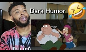 Family Guy Dark Humor Jokes Funny Compilation | Reaction