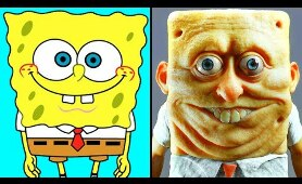 Cartoon Characters in Real Life