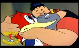 Woody Woodpecker classic | The Loose Nut | Woody Woodpecker Full Episode | *Remastered*