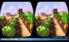 VR Experience für Kinder - Cartoons von ExoU