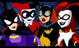 Batgirl and Harley Quinn | Classic Batman Cartoons | DC Kids