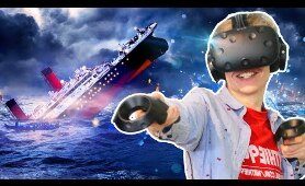 WITNESS THE SINKING OF THE TITANIC IN VIRTUAL REALITY | Titanic VR Experience (HTC Vive Gameplay)